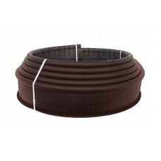 Бордюр Канта PRO пластиковый коричневый SP Б-1000.15.03-ПП арт.82544-к