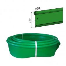 Бордюр Кантри стандартный Б-1000.2.11-ПП пластиковый зелёный